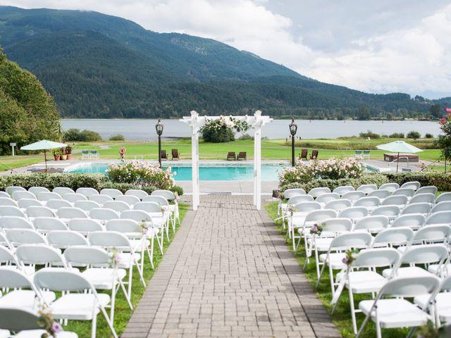 David and Caitlin's wedding in Harrison Mills, British Columbia 7