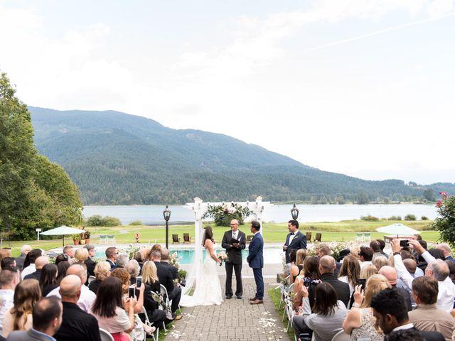 David and Caitlin's wedding in Harrison Mills, British Columbia 10