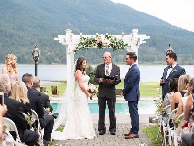 David and Caitlin's wedding in Harrison Mills, British Columbia 11