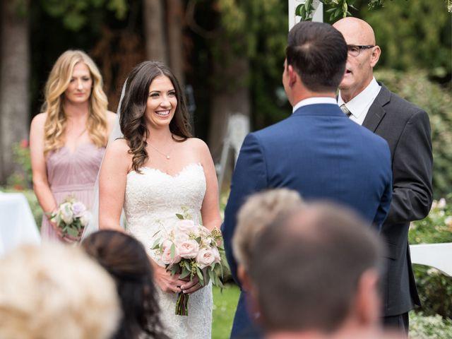 David and Caitlin's wedding in Harrison Mills, British Columbia 13
