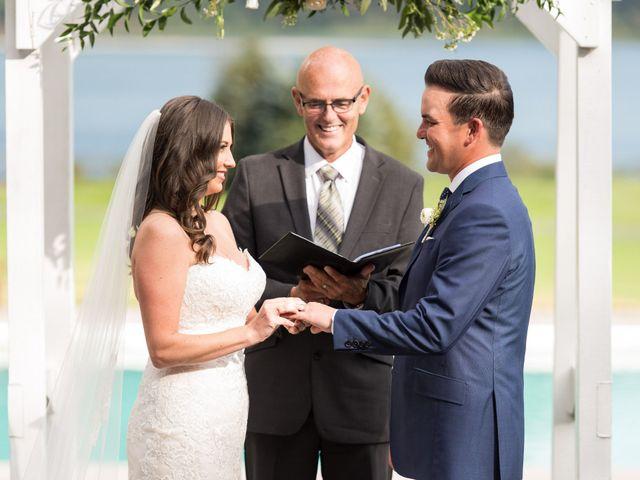 David and Caitlin's wedding in Harrison Mills, British Columbia 15