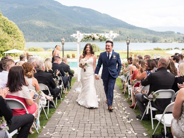 David and Caitlin's wedding in Harrison Mills, British Columbia 16