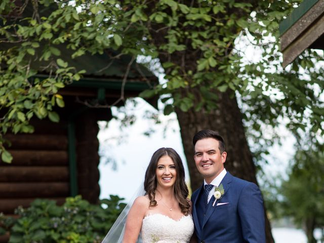 David and Caitlin's wedding in Harrison Mills, British Columbia 1