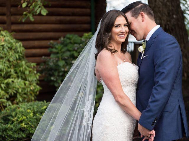 David and Caitlin's wedding in Harrison Mills, British Columbia 17