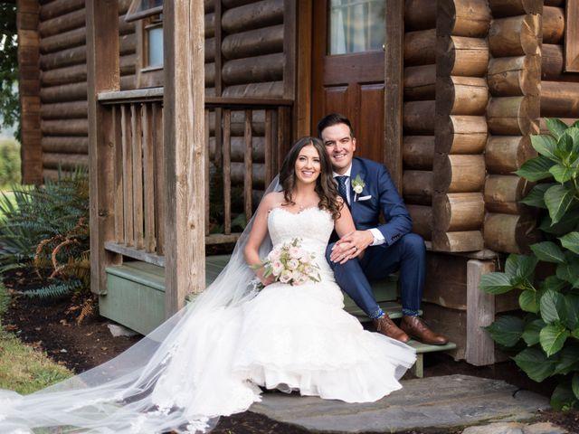 David and Caitlin's wedding in Harrison Mills, British Columbia 2