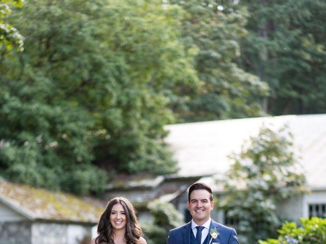 David and Caitlin's wedding in Harrison Mills, British Columbia 18