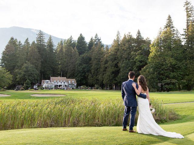David and Caitlin's wedding in Harrison Mills, British Columbia 25