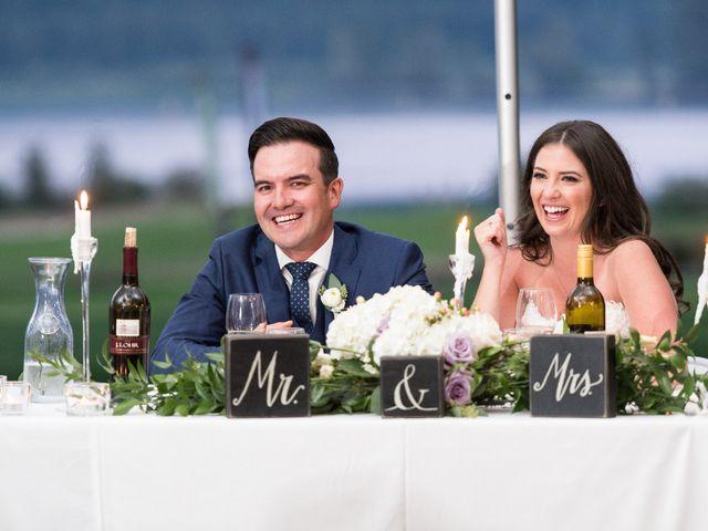 David and Caitlin's wedding in Harrison Mills, British Columbia 30