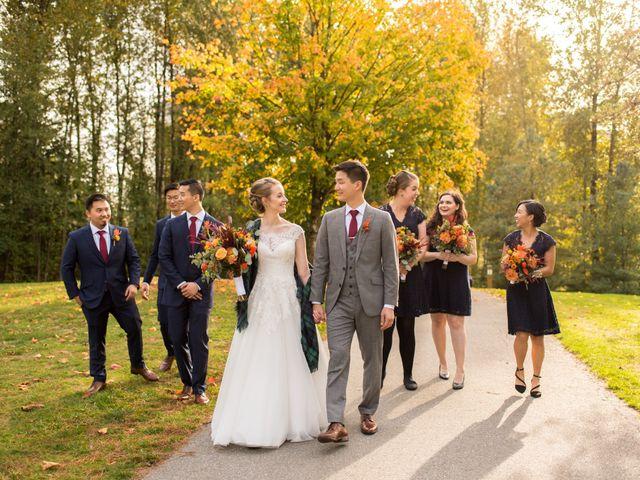 Kimberley and Daniel's wedding in Coquitlam, British Columbia 7