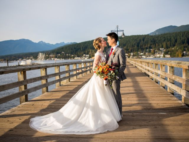Kimberley and Daniel's wedding in Coquitlam, British Columbia 10