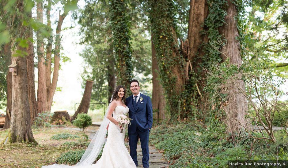 David and Caitlin's wedding in Harrison Mills, British Columbia