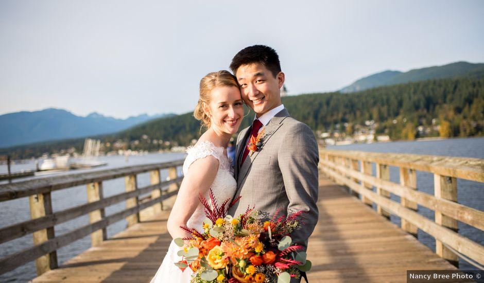 Kimberley and Daniel's wedding in Coquitlam, British Columbia