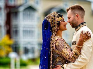 The wedding of Jason and Wajihah