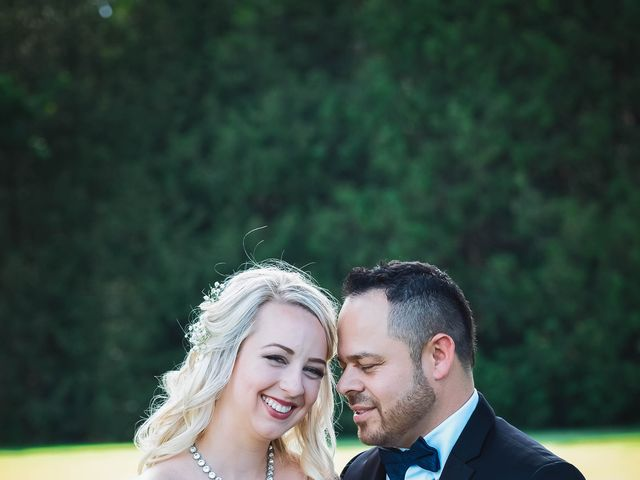 Sandra and Carlos's wedding in Whitby, Ontario 1