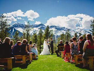 The wedding of Jenna and Leigh