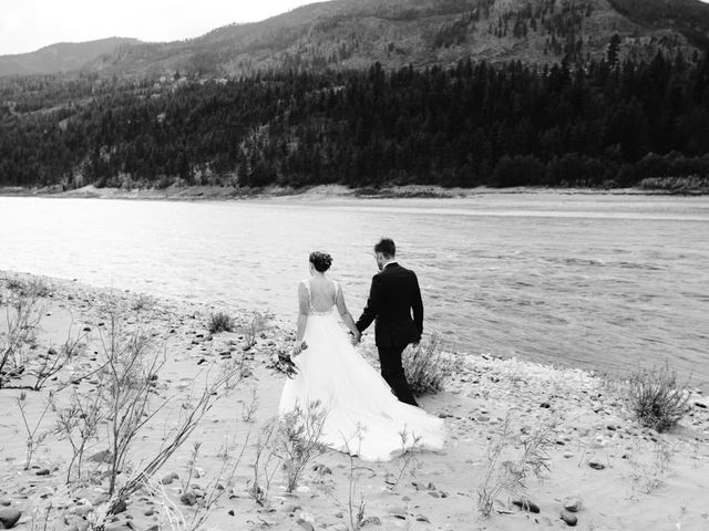 Andrew and Elice's wedding in Lytton, British Columbia 75