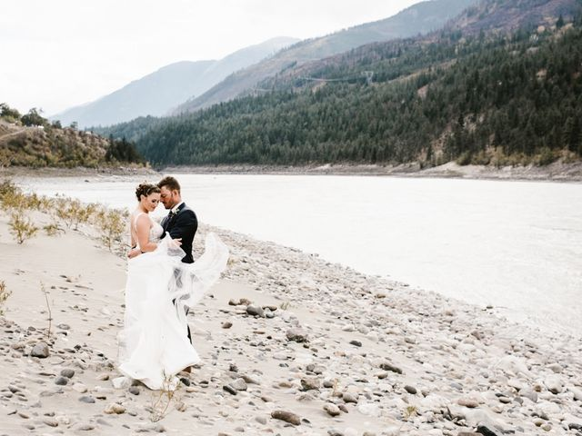 Andrew and Elice's wedding in Lytton, British Columbia 77