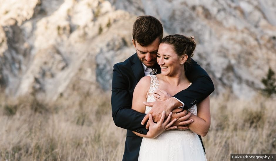 Andrew and Elice's wedding in Lytton, British Columbia