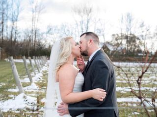 The wedding of Heather and Steven