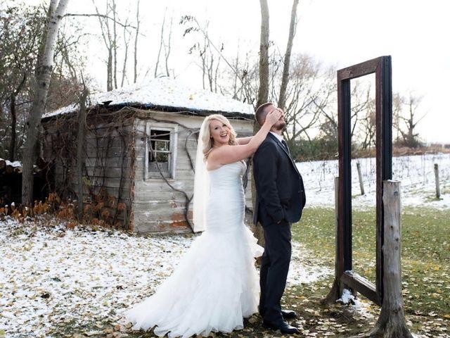 Steven and Heather's wedding in Newmarket, Ontario 5