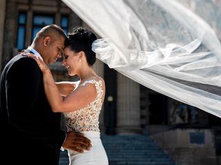 The wedding of Aneil and Sabrina