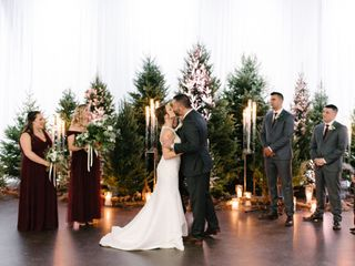 The wedding of Chelsea  and Chris