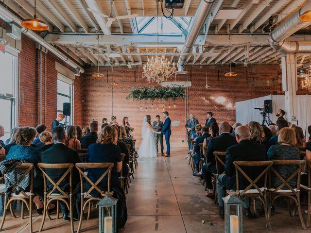 Lucas and Jenn's wedding in Calgary, Alberta 7