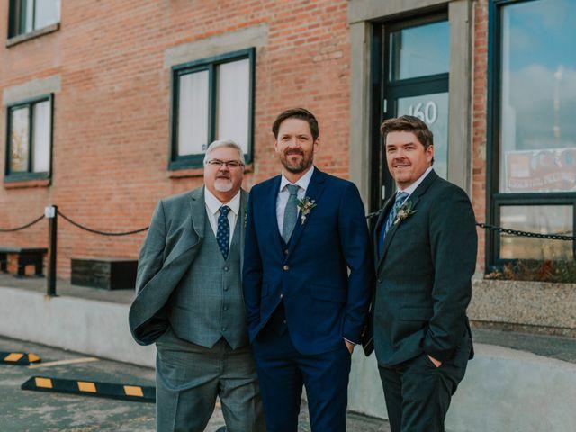 Lucas and Jenn's wedding in Calgary, Alberta 15