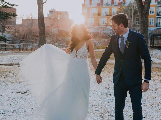 Lucas and Jenn's wedding in Calgary, Alberta 18