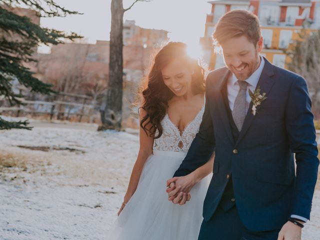 Lucas and Jenn's wedding in Calgary, Alberta 19