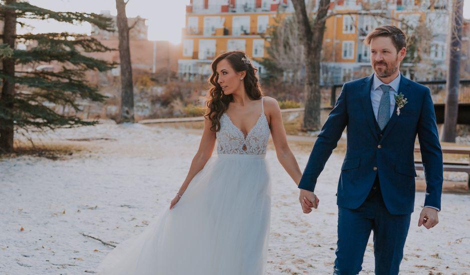 Lucas and Jenn's wedding in Calgary, Alberta