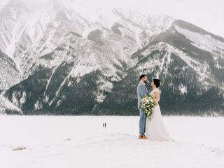 The wedding of Amy and Dan