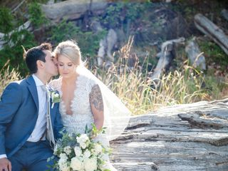 The wedding of Siobhan and Alex