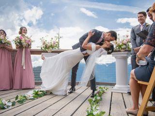 The wedding of Rebekah and Milos