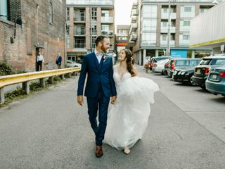 The wedding of Danielle and Shane