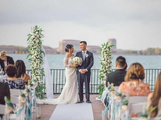 The wedding of Alvin and Francia
