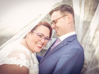 The wedding of Louise and Nick
