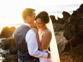 The wedding of Taryn and Chris