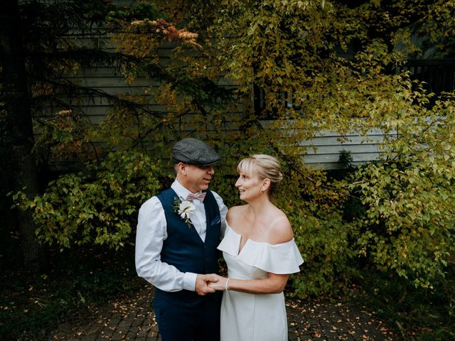 The wedding of Ken and Trish