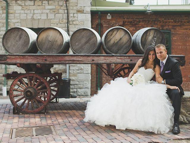 The wedding of Caroline and Braden