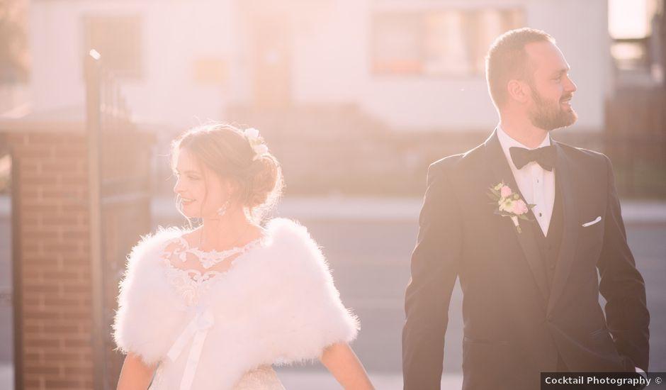Sieger and Mariana's wedding in Edmonton, Alberta