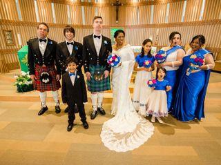 The wedding of Stephen and Roshani 1