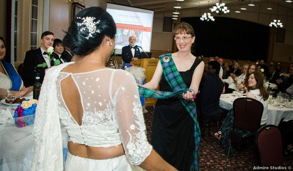Roshani and Stephen's wedding in Edmonton, Alberta