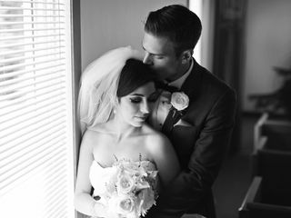 The wedding of Andrew and Cassandra