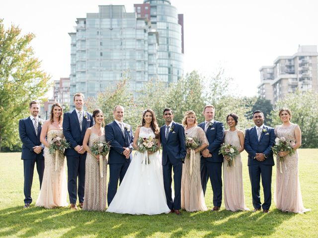 Shaz and Nicole's wedding in Vancouver, British Columbia 23