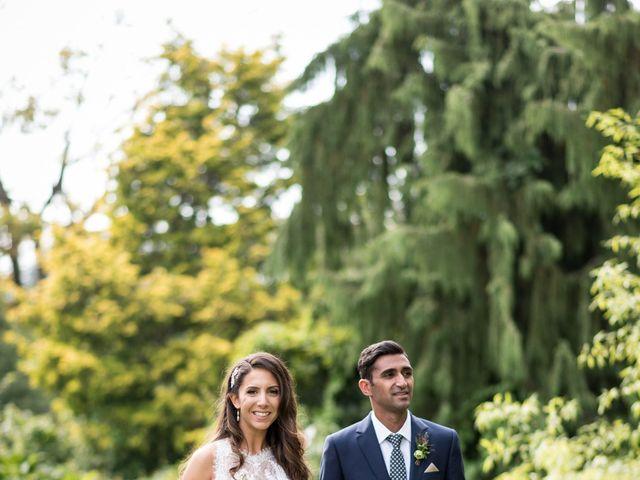 Shaz and Nicole's wedding in Vancouver, British Columbia 1