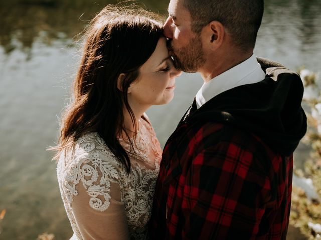 Hannah and Daniel's wedding in Golden, British Columbia 1