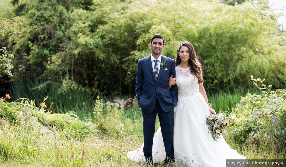 Shaz and Nicole's wedding in Vancouver, British Columbia