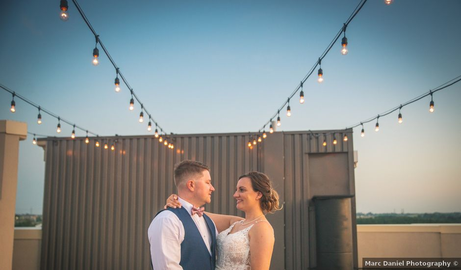 Rebeka and Cory's wedding in Hamilton, Ontario