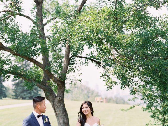 Cash and Leo's wedding in Edmonton, Alberta 16